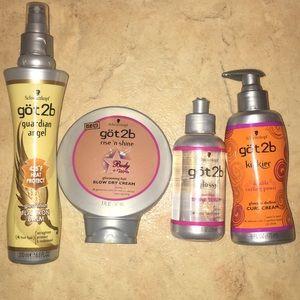 Got2b Hair product Bundle ((Brand New!!))